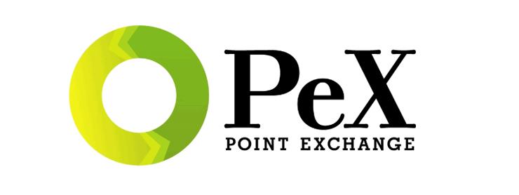 PEX(Point Exchange)のロゴ
