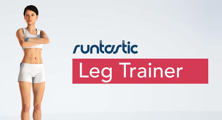 RuntasticのスマホアプリLeg Trainer