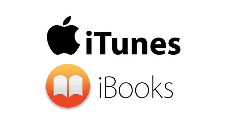 iTunesとiBooksのロゴ