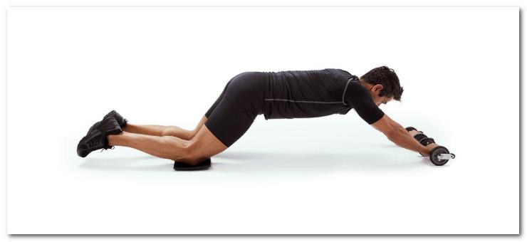 腹筋ローラー(アブローラー)のトレーニング方法