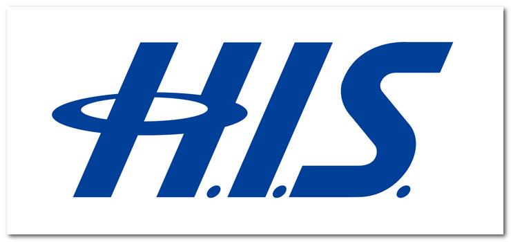 H.I.S.(エイチ・アイ・エス)のロゴ