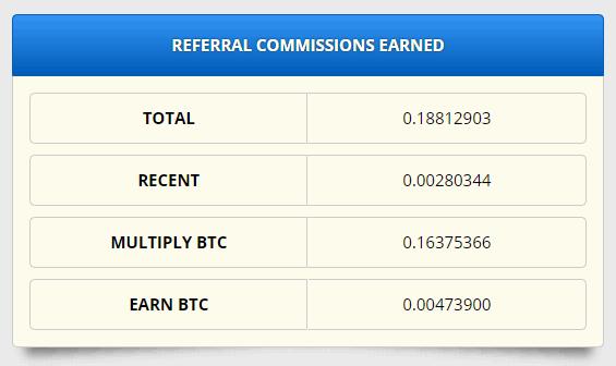 フリービットコインの紹介手数料