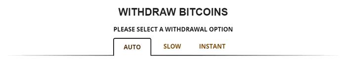 FreeBitcoinからの出金パターン
