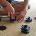 可変式ダンベルのプレートを直す方法