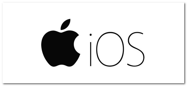 iOS(iPhone)のロゴ
