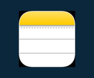 iOSのメモアプリ
