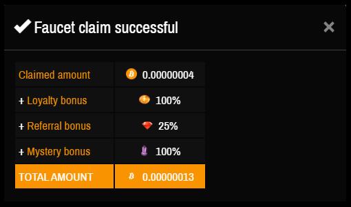 Moon BitcoinのFeferral Bonusの数字